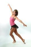 Bailarín bastante de sexo femenino Imagen de archivo