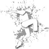 Bailarín blanco Imagen de archivo