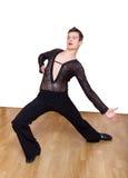 Bailarín bonito joven del salón de baile Fotografía de archivo