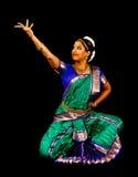 Bailarín clásico asiático del sur Foto de archivo libre de regalías