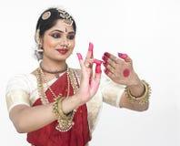 Bailarín clásico de la India Fotos de archivo libres de regalías