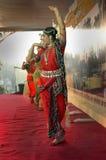 Bailarín clásico indio Fotografía de archivo libre de regalías