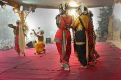 Bailarín clásico indio Imagen de archivo libre de regalías
