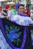 Bailarín colombino en el traje tradicional 1 Fotos de archivo libres de regalías