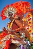 Bailarín colorido de Junkanoo imágenes de archivo libres de regalías