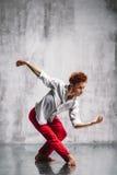 Bailarín contemporáneo Imagen de archivo libre de regalías