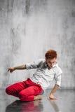 Bailarín contemporáneo Fotografía de archivo