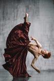 Bailarín contemporáneo Imágenes de archivo libres de regalías