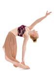 Bailarín contemporáneo adolescente apasionado Foto de archivo
