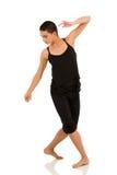 Bailarín contemporáneo de sexo femenino imagen de archivo libre de regalías