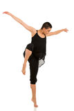 Bailarín contemporáneo de sexo femenino imagen de archivo