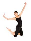 Bailarín contemporáneo de sexo femenino Fotos de archivo libres de regalías