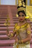 Bailarín de Apsara Imagenes de archivo