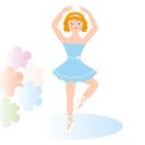 Bailarín de ballet Imágenes de archivo libres de regalías