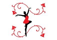Bailarín de ballet Foto de archivo libre de regalías