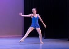 Bailarín de ballet adolescente Fotografía de archivo libre de regalías
