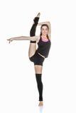 Bailarín de ballet adolescente que estira ejercicio Imagen de archivo