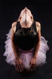 Bailarín de ballet de sexo femenino hermoso Bailarina Imagen de archivo libre de regalías