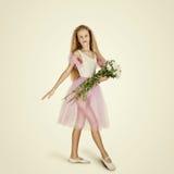 Bailarín de ballet de sexo femenino joven Bailarina Imagen de archivo