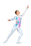 Bailarín de ballet de sexo masculino joven Fotografía de archivo libre de regalías