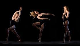 Bailarín de ballet en el movimiento fotografía de archivo libre de regalías