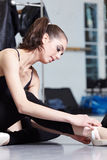 Bailarín de ballet moderno Imágenes de archivo libres de regalías
