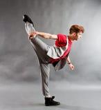 Bailarín de ballet moderno Fotografía de archivo libre de regalías