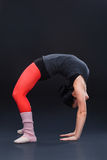 Bailarín de ballet moderno Imagenes de archivo