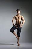 Bailarín de ballet moderno joven y elegante Fotos de archivo