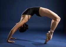Bailarín de ballet y gimnasta Fotos de archivo