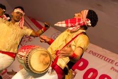 Bailarín de Bihu Imagen de archivo