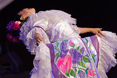 Bailarín de Colombia en el traje tradicional 6 Foto de archivo