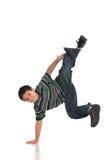 Bailarín de golpecito del niño Imágenes de archivo libres de regalías