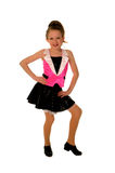 Bailarín de golpecito joven feliz Imagen de archivo