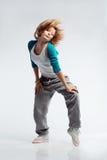 Bailarín de Hip-hop Imágenes de archivo libres de regalías