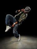 Bailarín de Hip Hop Fotos de archivo libres de regalías