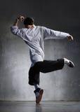 Bailarín de Hip-hop Imagenes de archivo