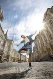 Bailarín de la calle Imagenes de archivo