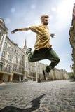 Bailarín de la calle Fotos de archivo libres de regalías