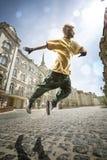 Bailarín de la calle Foto de archivo