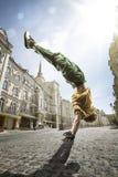 Bailarín de la calle Foto de archivo libre de regalías