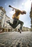Bailarín de la calle Fotos de archivo