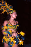 Bailarín de la danza popular brasileña Foto de archivo libre de regalías