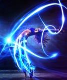 Bailarín de la mujer joven Fotografía de archivo libre de regalías