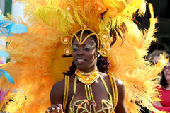 Bailarín de la República Dominicana Fotografía de archivo