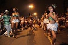 Bailarín de la samba del niño Imágenes de archivo libres de regalías
