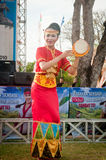 Bailarín de Lampung del metro. Imagen de archivo libre de regalías