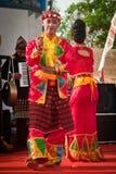 Bailarín de Lampung del metro. Fotografía de archivo libre de regalías