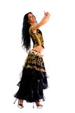 Bailarín de Latina Imagenes de archivo