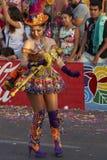 Bailarín de Morenada - Arica, Chile Fotografía de archivo libre de regalías